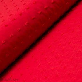 Tissu voile de viscose plumetis pois Autres marques - 3