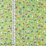 Tissu coton motif fleurs Autres marques - 8