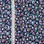 Tissu coton motif fleurs Autres marques - 6