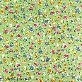 Tissu coton motif fleurs Autres marques - 5