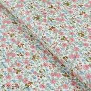 Tissu coton motif fleurs Autres marques - 1