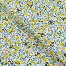 Tissu coton motif fleurs Autres marques - 13