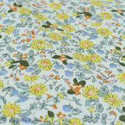 Tissu coton motif fleurs Autres marques - 10