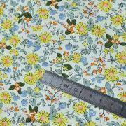 Tissu coton motif fleurs Autres marques - 12