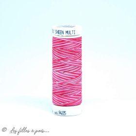 Fil à broder multicolore Polysheen 200m - Mettler ® - rouge 9405 METTLER ® - Fils à coudre et à broder - 1