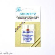 Aiguille universelle double machine à coudre - Schmetz ® SCHMETZ ® - 8