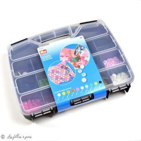 Boîte color snaps 10 x 30 couleurs 12.4mm - Prym ® Prym ® - Mercerie - 1