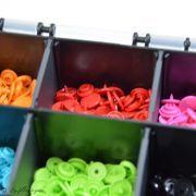 Boîte color snaps 10 x 30 couleurs 12.4mm - Prym ® Prym ® - Mercerie - 10