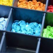 Boîte color snaps 10 x 30 couleurs 12.4mm - Prym ® Prym ® - Mercerie - 12