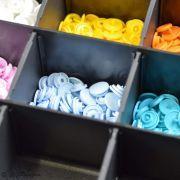Boîte color snaps 10 x 30 couleurs 12.4mm - Prym ® Prym ® - Mercerie - 15
