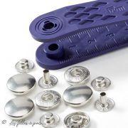 Bouton pression anorak SANS outil - 12mm - Argenté - Prym ® Prym ® - 2