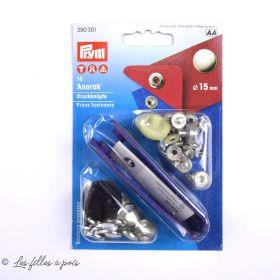 Bouton pression anorak avec outil - 15mm - Prym ® Prym ® - Mercerie - 5