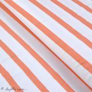 "Tissu jersey motif rayures ""Stripes"" - Oekotex - AGF ® Art Gallery Fabrics ® - 6"