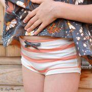 "Tissu jersey motif rayures ""Stripes"" - Oekotex - AGF ® Art Gallery Fabrics ® - 16"
