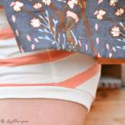 "Tissu jersey motif rayures ""Stripes"" - Oekotex - AGF ® Art Gallery Fabrics ® - 17"