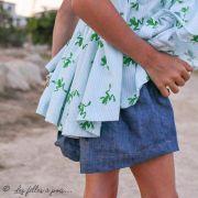 "Tissu jersey motif grenouilles ""Frog"" - Blanc et vert - Oekotex et Bio - Lily balou ® Art Gallery Fabrics ® - Tissus - 7"