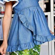 "Tissu coton denim ""Denim Prints"" - Oekotex ® - AGF ® Art Gallery Fabrics ® - 10"
