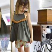 "Tissu jersey motif pois et fleurs ""Bloomsbury"" de Bari J - Blanc - Oekotex - AGF ® Art Gallery Fabrics ® - Tissus - 10"