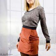 Tissu tricot bouclette lurex - Noir  - 13