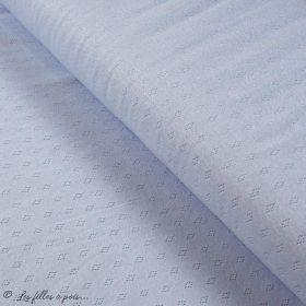 "Tissu jersey maille ajourée ""maille pointelle"" - Oeko-Tex ® Autres marques - Tissus et mercerie - 20"