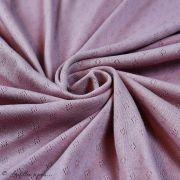 "Tissu jersey maille ajourée ""maille pointelle"" - Oeko-Tex ® Autres marques - 21"