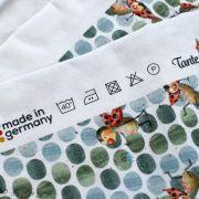 """Tissu jersey coton motif coccinelle """"Marinies"""" - Blanc, vert et rouge - Bio - Lillestoff ® Lillestoff ® - Tissus Bio - 6"""