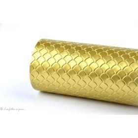 Coupon simili cuir - Ecailles de serpent