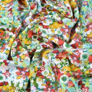"Tissu coton motif fleurs ""Lavish"" esprit Liberty - Multicolore - Oekotex - AGF ® Art Gallery Fabrics ® - Tissus - 4"