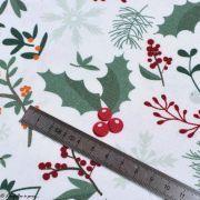 Tissu linge de table motifs de Noël - Blanc et multicolore - Oeko-Tex ® et GOTS ® Autres marques - Tissus et mercerie - 6