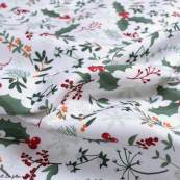Tissu linge de table motifs de Noël - Blanc et multicolore - Oeko-Tex ® et GOTS ® Autres marques - Tissus et mercerie - 5