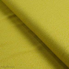 Tissu jersey motif pois - Ocre et blanc - Oeko-Tex ® - Stenzo Textiles ® Stenzo Textiles ® - Tissus Oekotex - 1