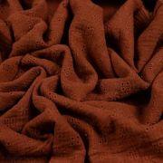 Tissu double gaze brodée de coton - Oekotex ® Autres marques - Tissus et mercerie - 9