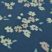 """Tissu jersey motif fleurs """"Mayfair"""" de Amy Sinibaldi - Bleu gris- Oekotex - AGF ® Art Gallery Fabrics ® - Tissus - 4"""