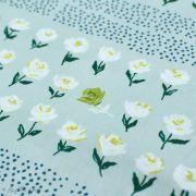 "Tissu coton motif pois et fleurs ""Mayfair"" de Amy Sinibaldi - Vert - Oekotex - AGF ® Art Gallery Fabrics ® - Tissus - 5"