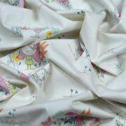 "Tissu coton motif fillettes ""Daydream"" de Patty Basemi - Rose - Oekotex - AGF ® Art Gallery Fabrics ® - Tissus - 4"