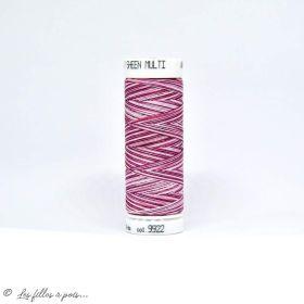 Fil à broder multicolore Polysheen 200m - Mettler ® - bordeaux 9922 METTLER ® - Fils à coudre et à broder - 1