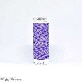 Fil à broder multicolore Polysheen 200m - Mettler ® - violet 9921 METTLER ® - Fils à coudre et à broder - 1