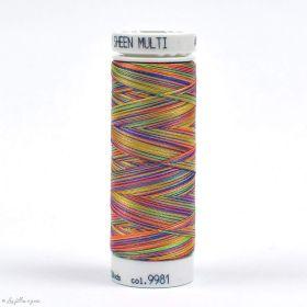 Fil à broder multicolore Polysheen 200m - Mettler ® - jaune 9981 METTLER ® - Fils à coudre et à broder - 1
