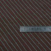 Tissu jersey motif rayures - Marron et bleu - Oeko-Tex ® - Stenzo Textiles ® Stenzo Textiles ® - Tissus Oekotex - 4