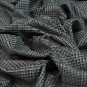 Tissu gabardine de coton stretch motif Salisbury lurex - Beige et noir Autres marques - Tissus et mercerie - 3