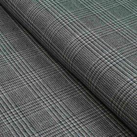 Tissu gabardine de coton stretch motif Salisbury lurex - Beige et noir Autres marques - Tissus et mercerie - 1
