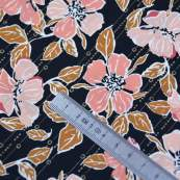 "Tissu coton motif fleurs ""Homebody"" - Gris et terracotta - Oekotex - AGF ® Art Gallery Fabrics ® - Tissus - 5"