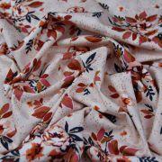 "Tissu coton motif fleurs ""Homebody"" - Rose et terracotta - Oekotex - AGF ® Art Gallery Fabrics ® - Tissus - 4"