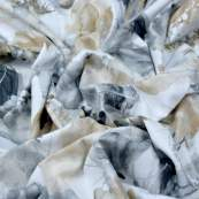 """Tissu coton motif géométrique """"Metallic"""" - Doré et argenté - Oekotex - 3 Wishes Fabrics ® 3 Wishes Fabrics ® - 6"""