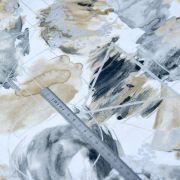 """Tissu coton motif géométrique """"Metallic"""" - Doré et argenté - Oekotex - 3 Wishes Fabrics ® 3 Wishes Fabrics ® - 7"""