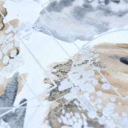 """Tissu coton motif géométrique """"Metallic"""" - Doré et argenté - Oekotex - 3 Wishes Fabrics ® 3 Wishes Fabrics ® - 3"""