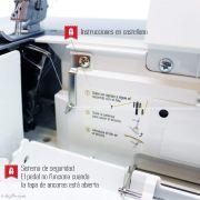 Recouvreuse 4 fils COVER Style - ALFA ALFA ® - Machines à coudre, à broder, à recouvrir et à surjeter - 5