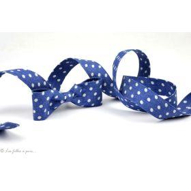 Ruban jeans bleu