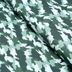 "Tissu coton motif Armée ""Lichen"" - Vert - Oeko-Tex ® Autres marques - Tissus et mercerie - 1"
