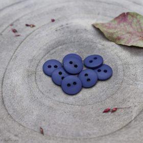 Bouton classic mat - Cobalt - Atelier brunette ® Atelier BRUNETTE ® - Tissus et mercerie - 1